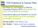 tce exposure cancer risk