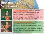 bustamante vs santa anna
