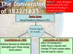 the convention of 1832 1833