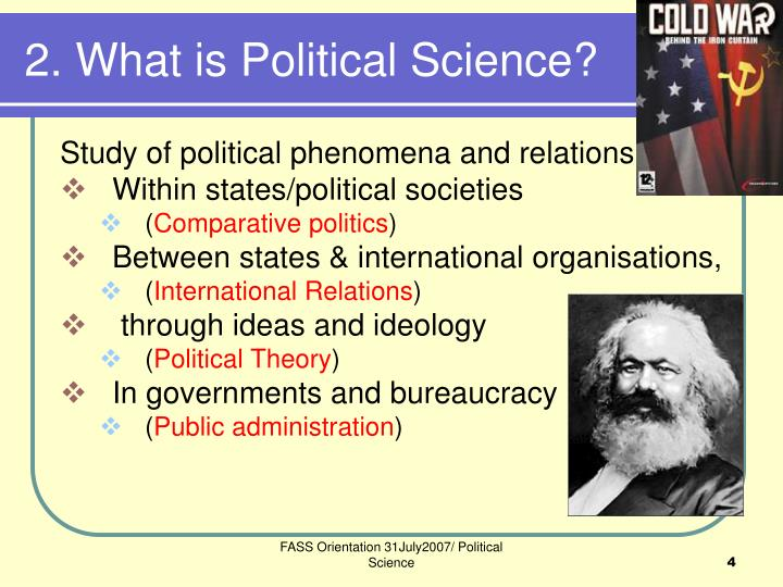 2. What is Political Science?