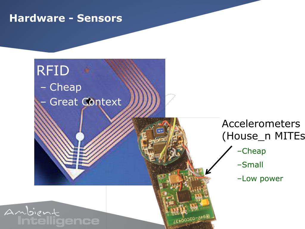 Hardware - Sensors