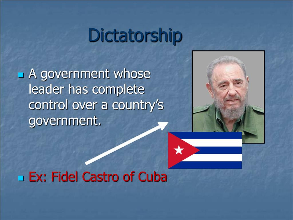 PPT - There are many different types of governments around ...
