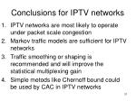 conclusions for iptv networks