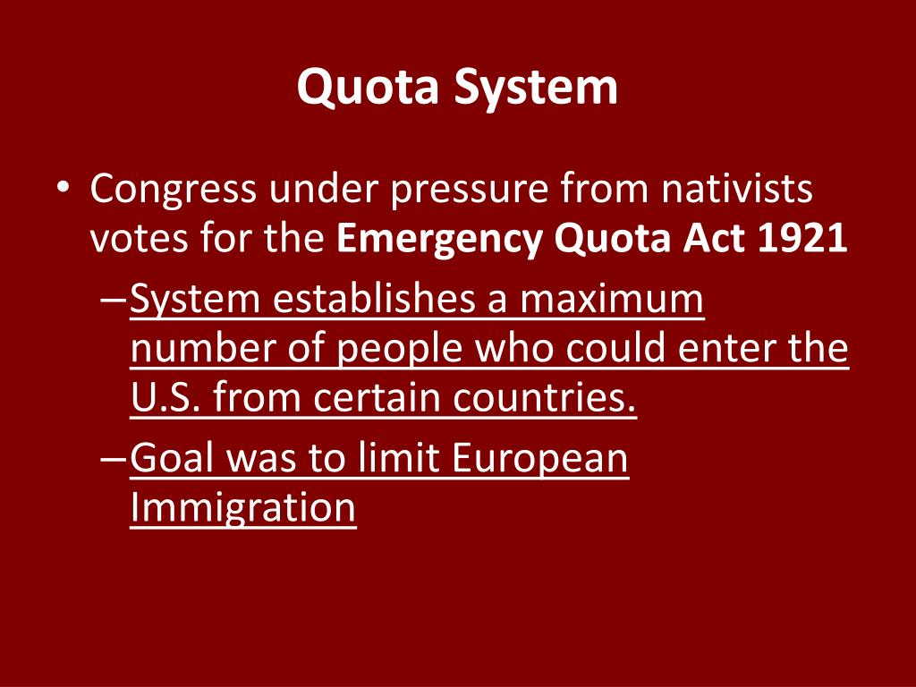 quota system immigration - photo #17