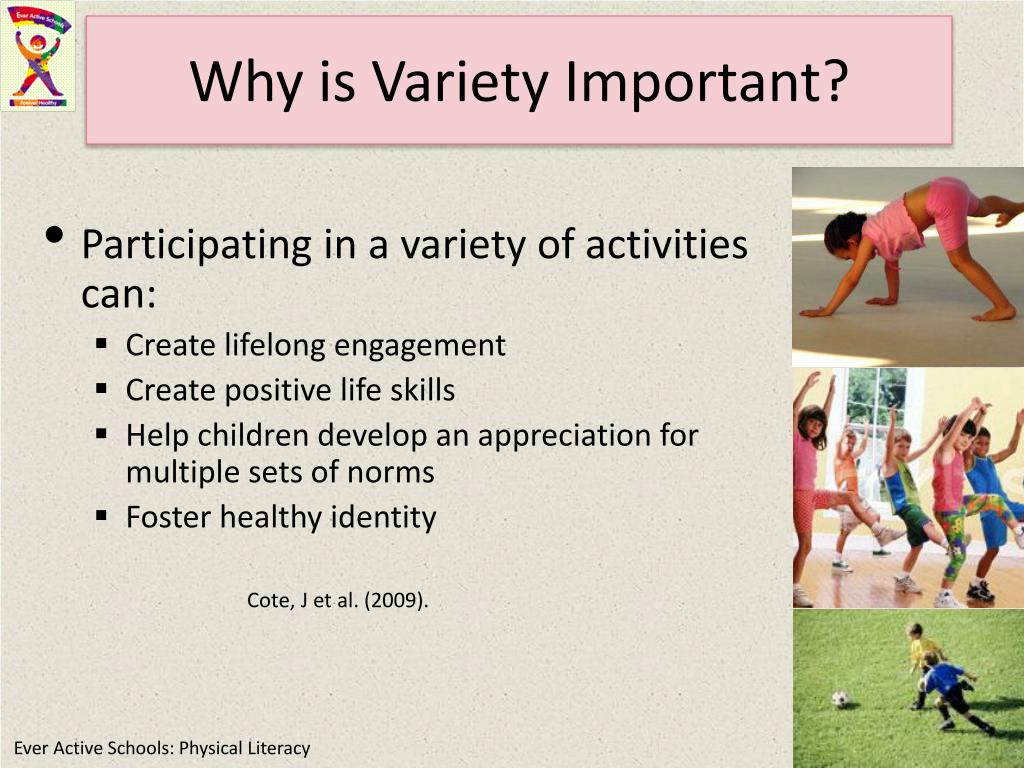 Why is Variety Important?