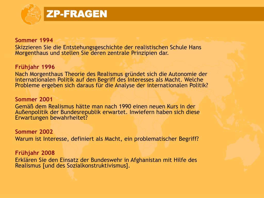 ZP-FRAGEN
