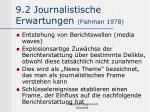 9 2 journalistische erwartungen fishman 1978