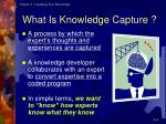 what is knowledge capture