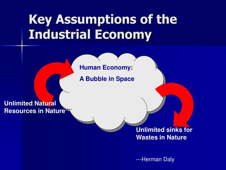 Key Assumptions of the Industrial Economy