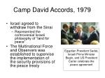 camp david accords 1979