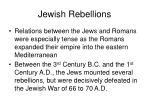 jewish rebellions
