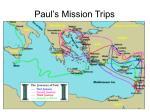 paul s mission trips