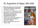 st augustine of hippo 354 430