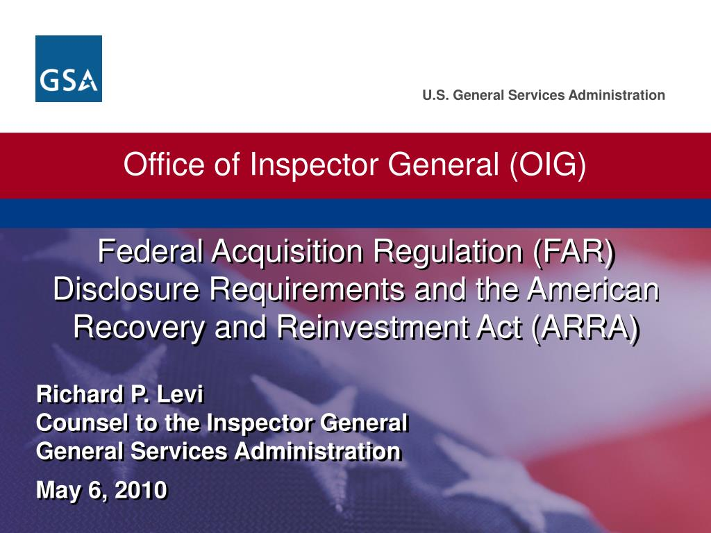 Office of Inspector General (OIG)