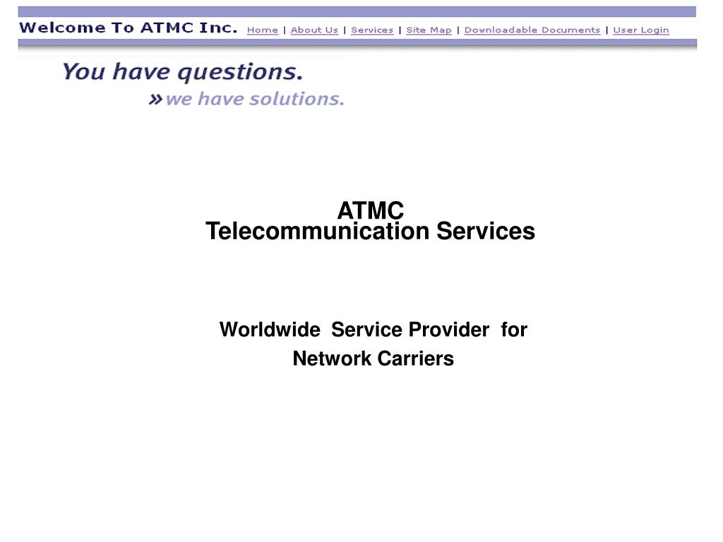 atmc telecommunication services