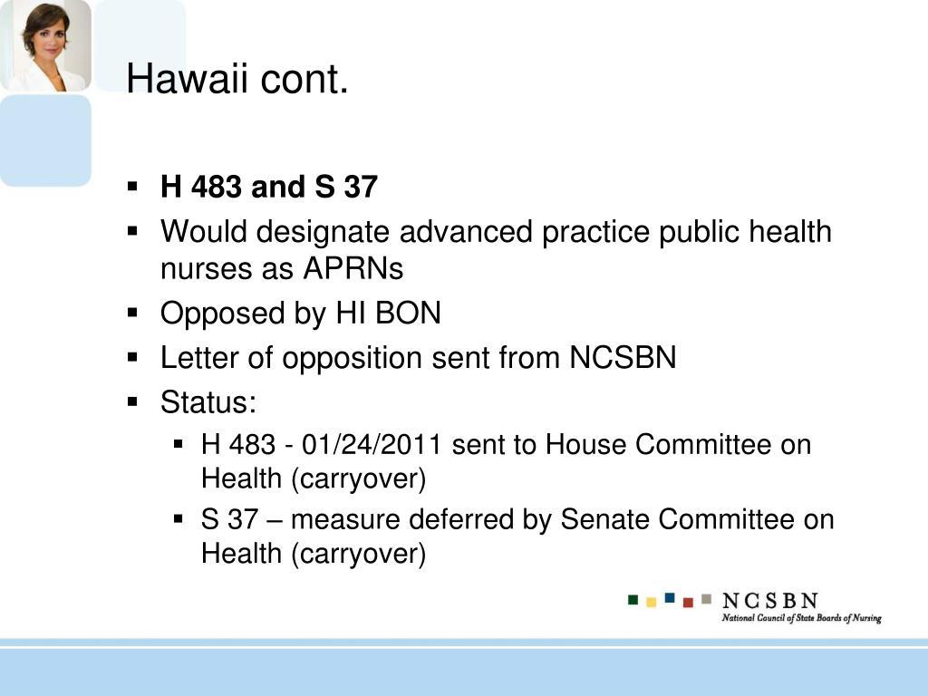 Hawaii cont.