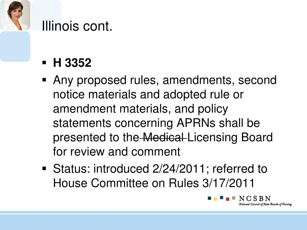 Illinois cont.