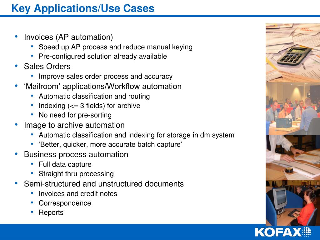Key Applications/Use Cases