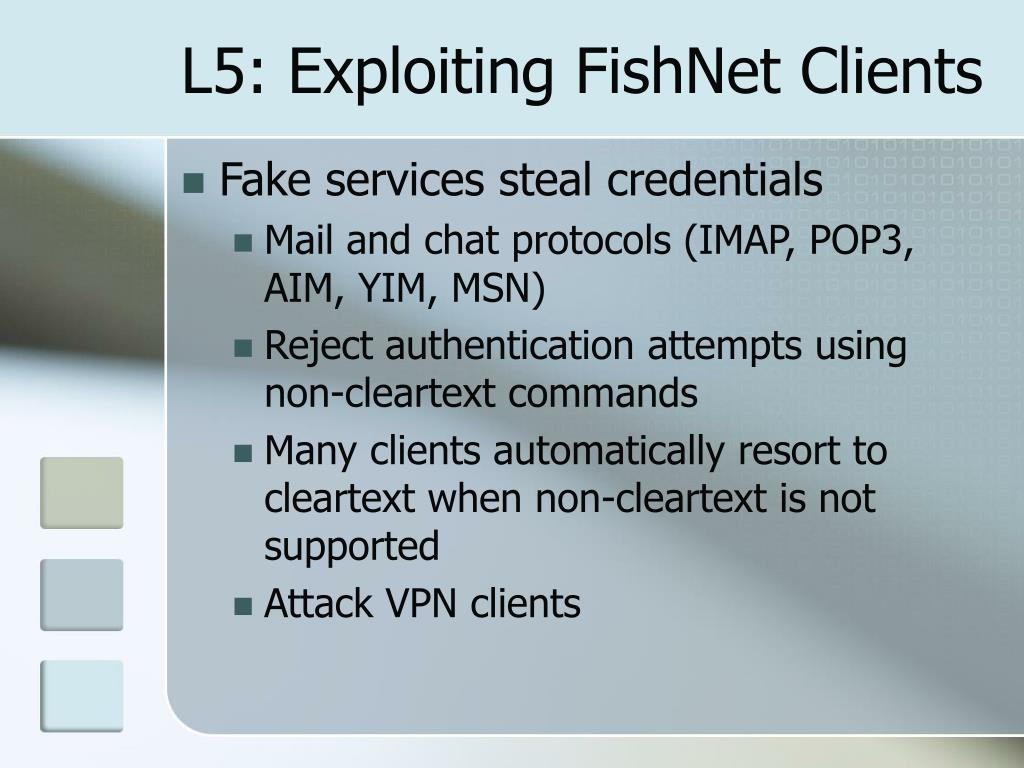 L5: Exploiting FishNet Clients