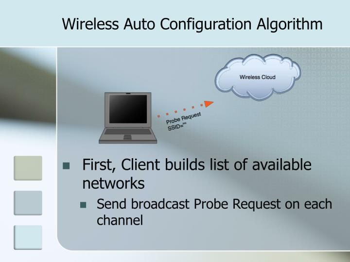 Wireless auto configuration algorithm l.jpg