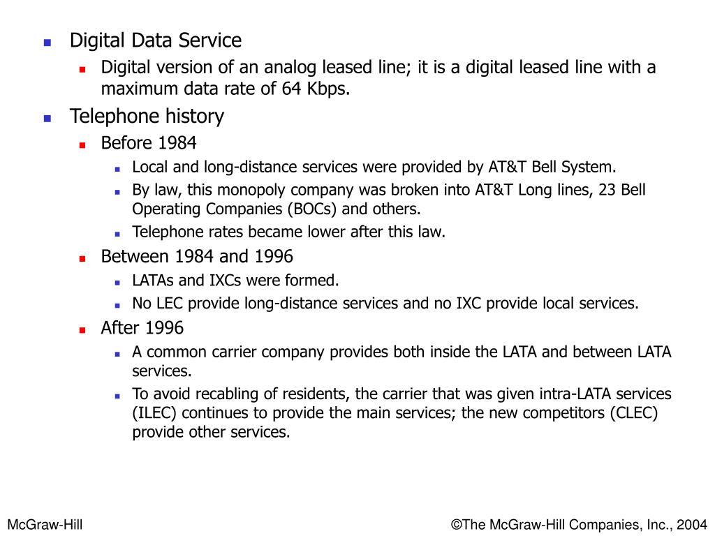 Digital Data Service