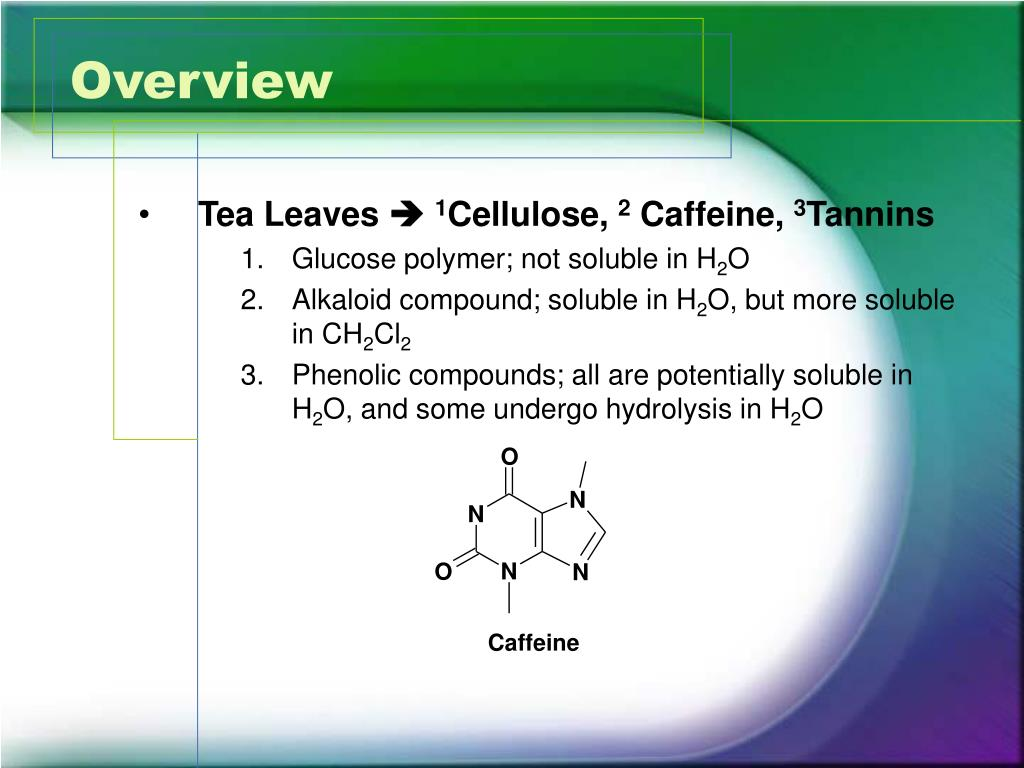 Lab Report: Extraction of Caffeine from Tea Bags Essay