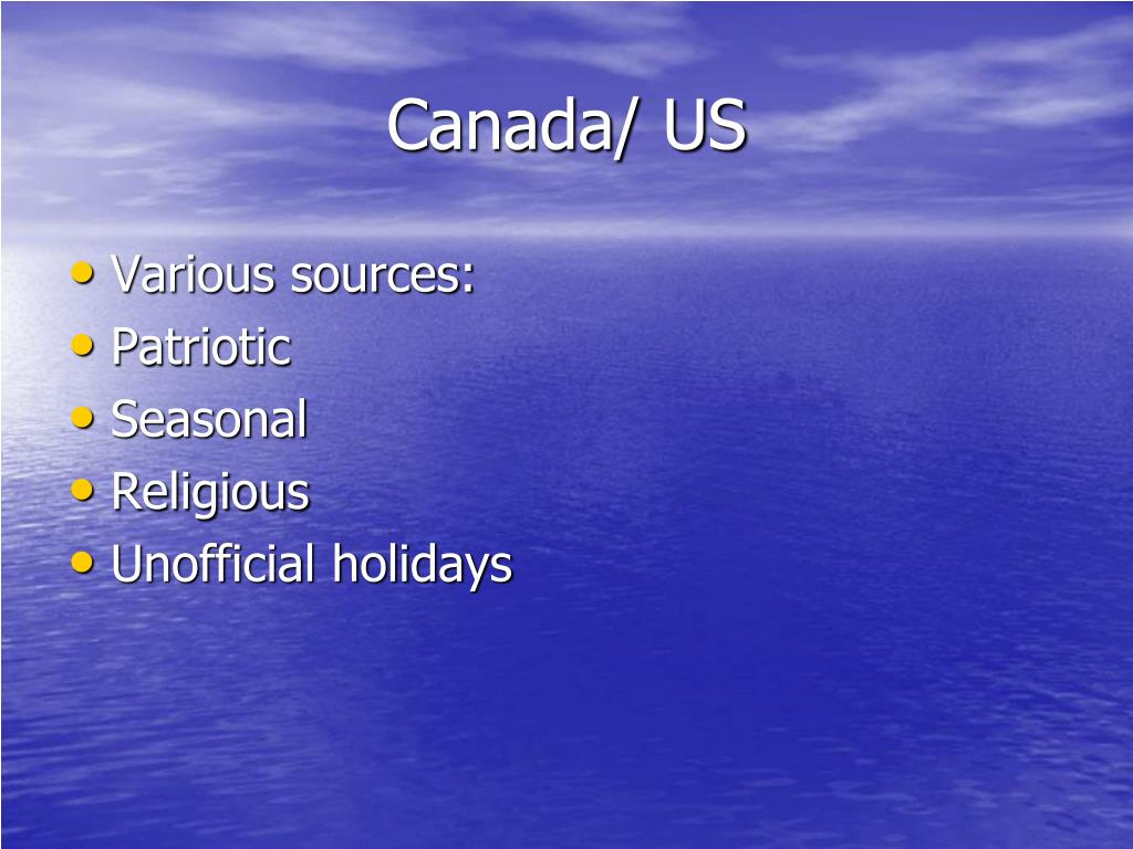 Canada/ US