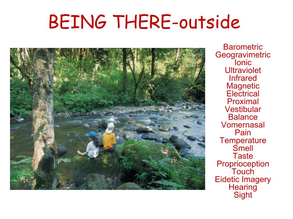 BEING THERE-outside