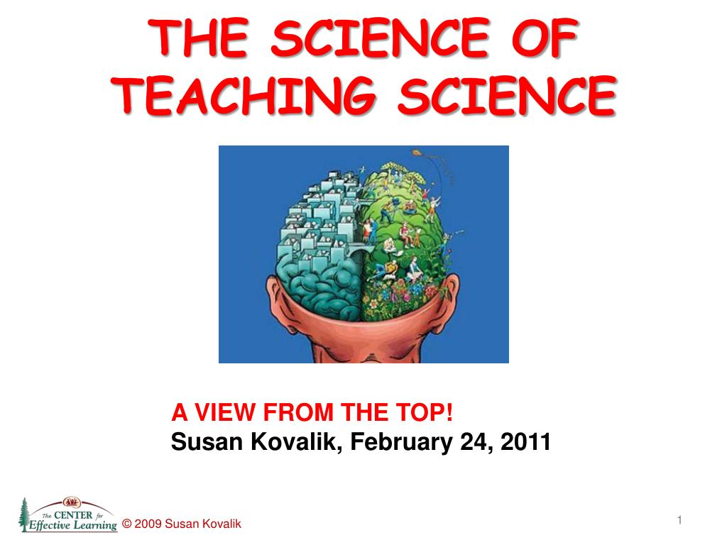 the science of teaching science