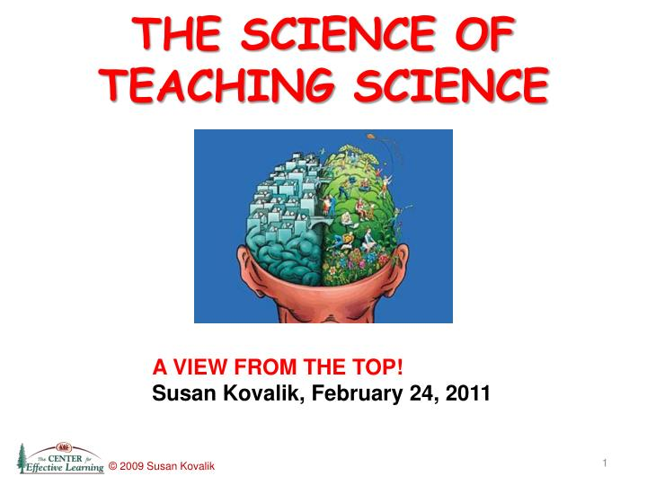 The science of teaching science l.jpg