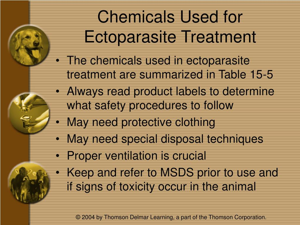 Chemicals Used for Ectoparasite Treatment