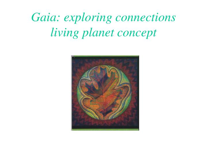 Gaia: exploring connections