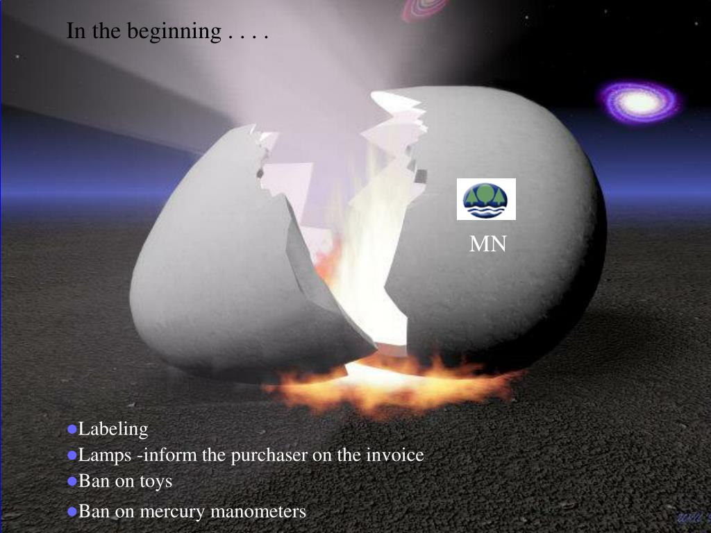 In the beginning . . . .
