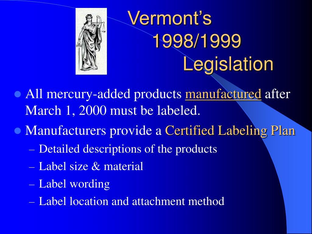 Vermont's