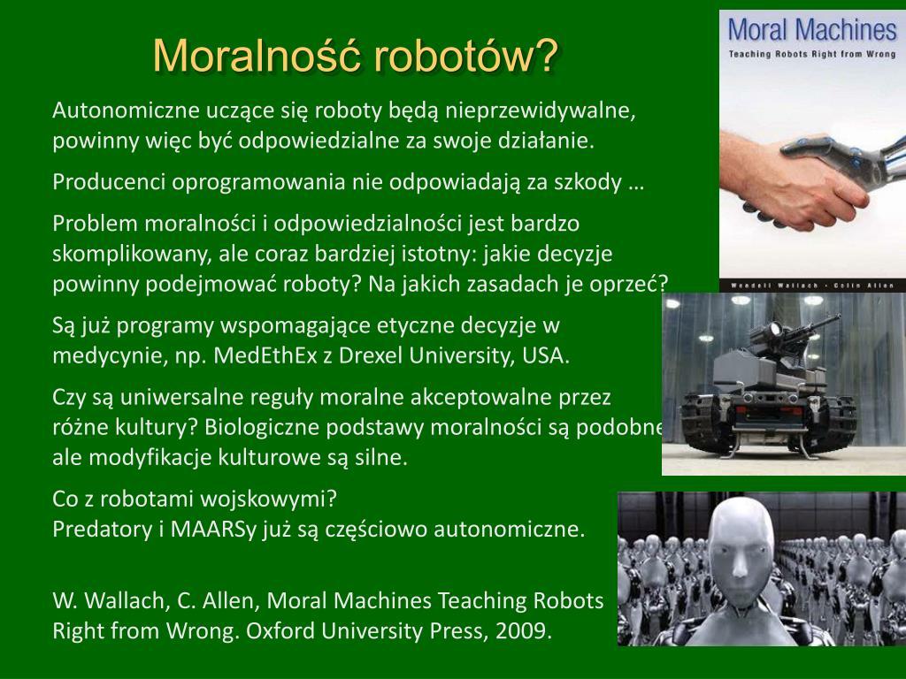 Moralność robotów?