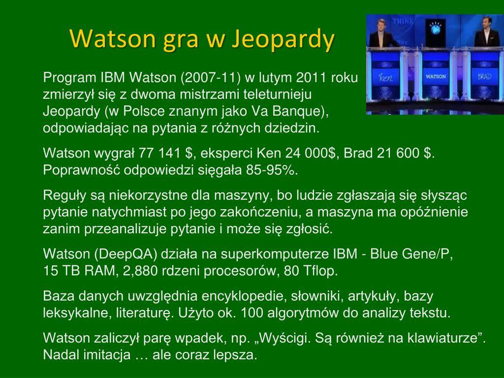 Watson gra w