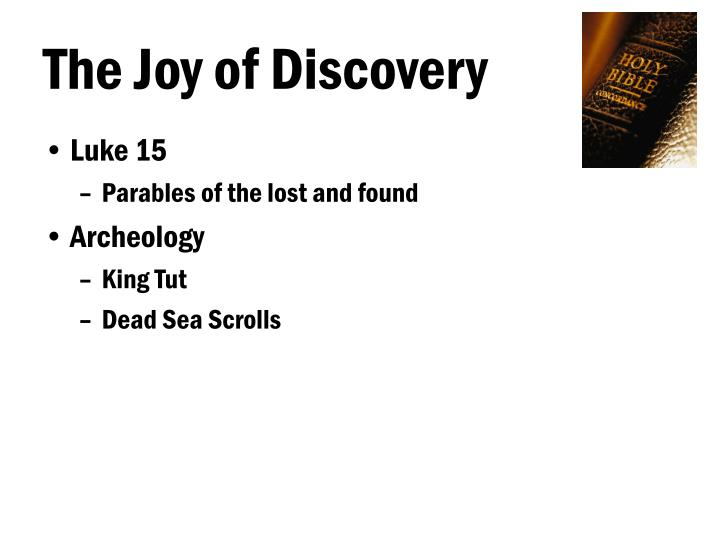 The joy of discovery l.jpg