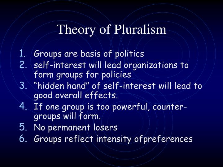 Theory of Pluralism