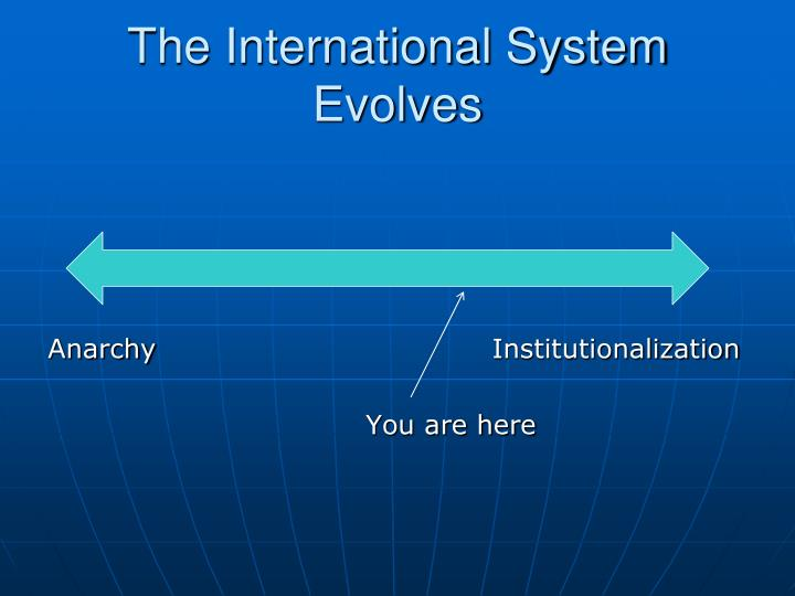 The International System Evolves