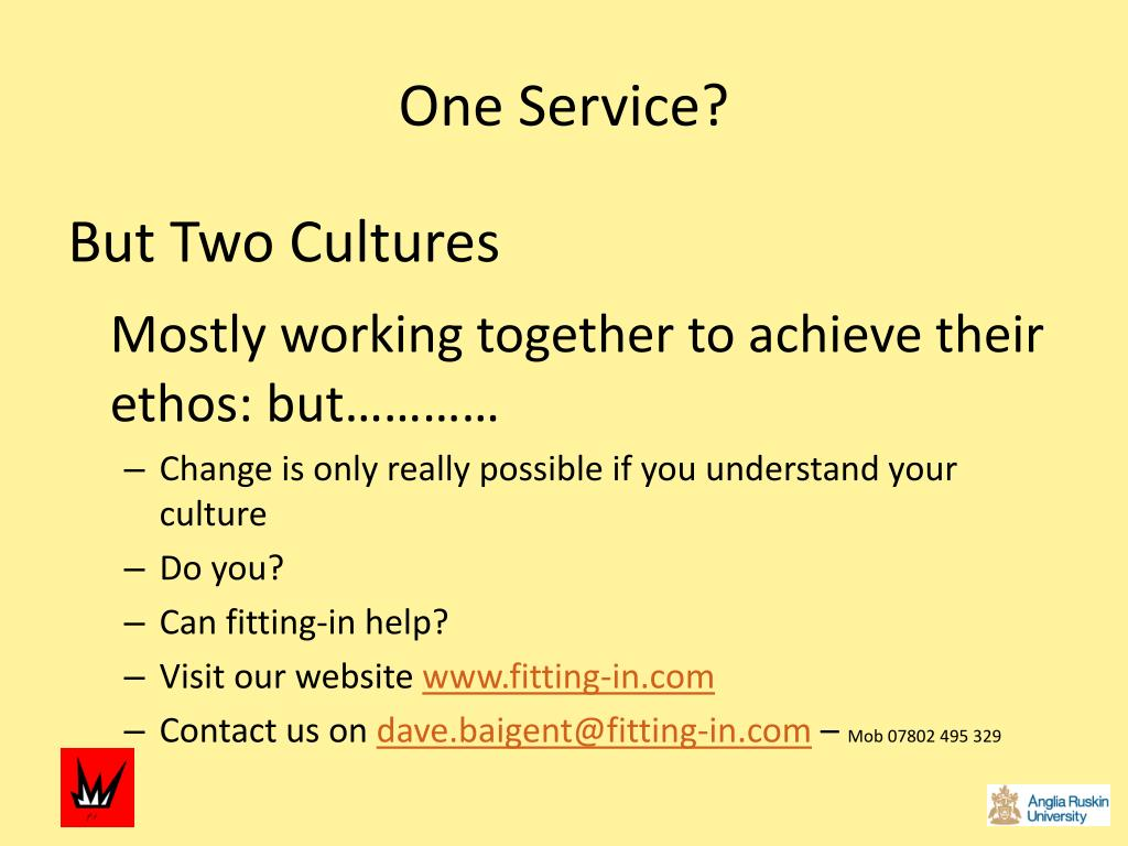 One Service?