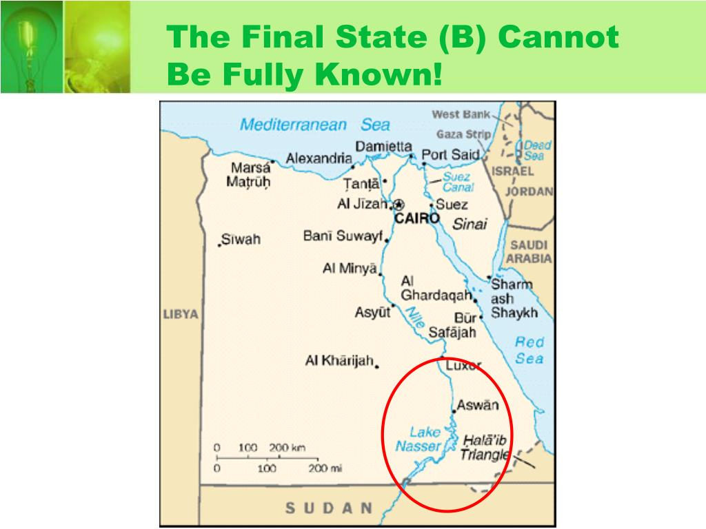 The Final State (B) Cannot Be Fully Known!