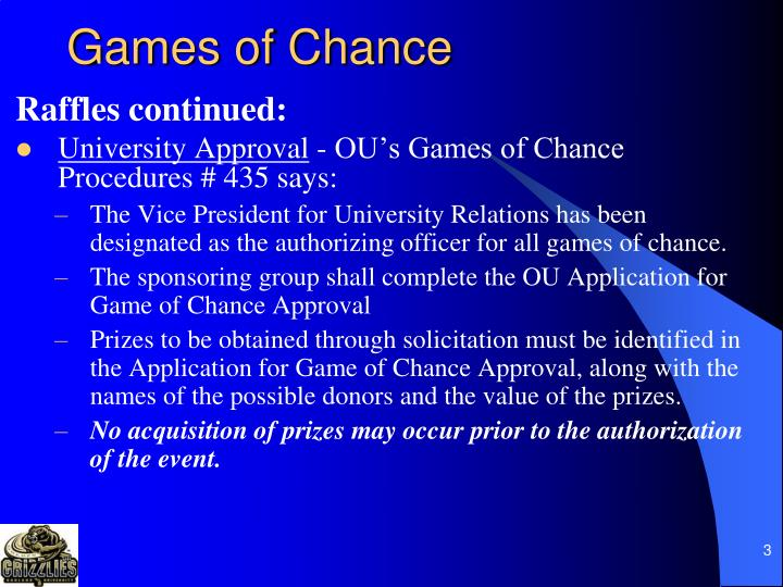 Games of chance3