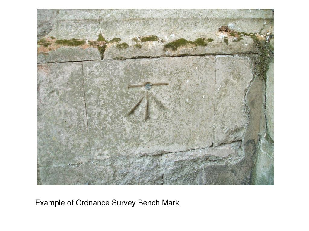 Example of Ordnance Survey Bench Mark