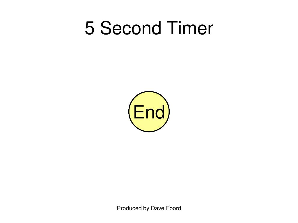 5 Second Timer
