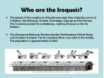 who are the iroquois