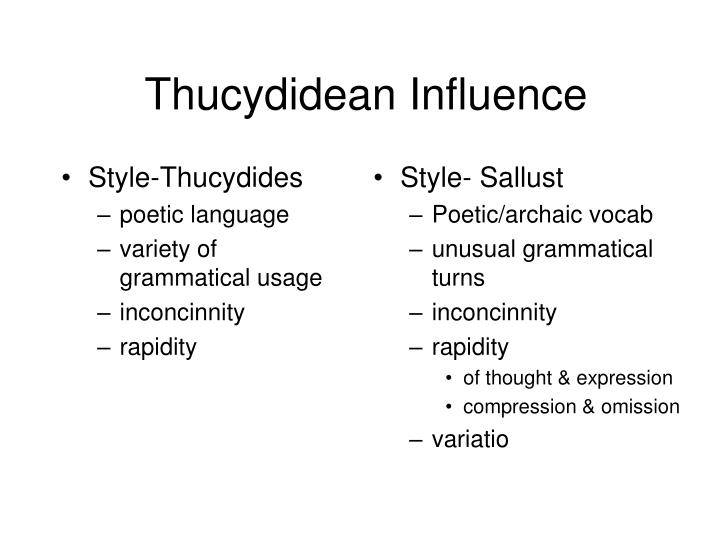 Style-Thucydides