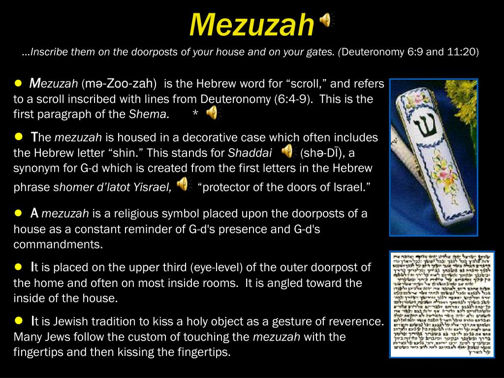 Mezuzah