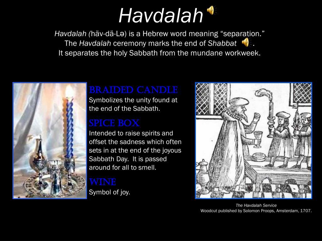 Havdalah