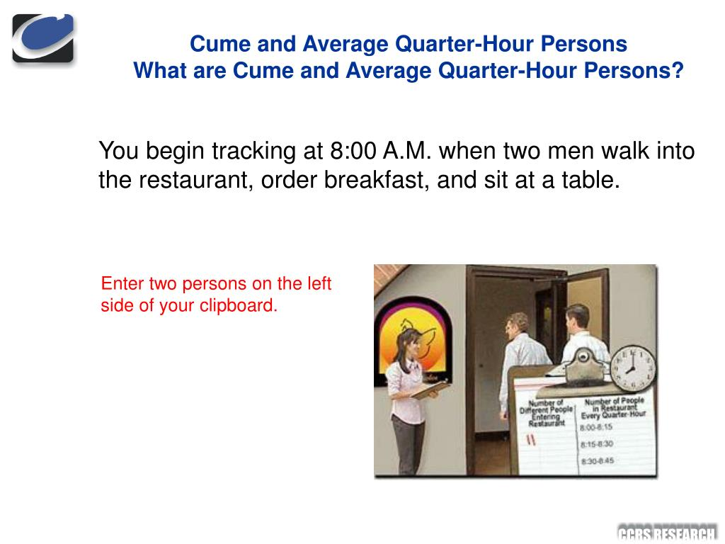 Cume and Average Quarter-Hour Persons