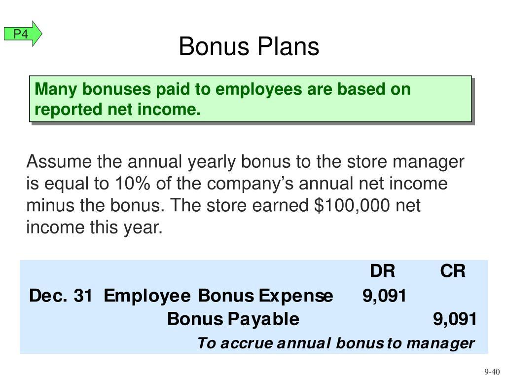 Bonus Plans